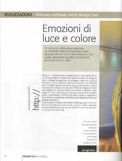 Progetto Wellness Articolo Stilnovo Spa (2011)
