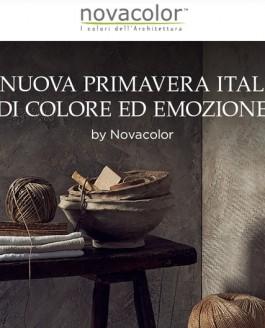 Novacolor al Materials Village presenta #THANKYOUSHOW