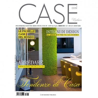 CASE Così – Exclusive – marzo 2015