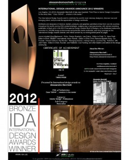 International Design Awards Announce 2012 Winners