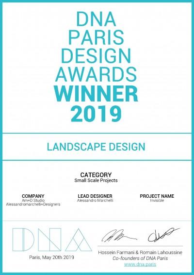 DNA PARIS DESIGN AWARDS 2019